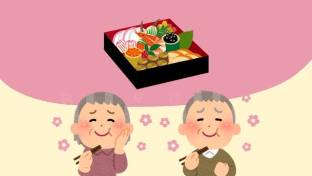 高齢夫婦のおせちは博多久松1人用おせち「祇園」